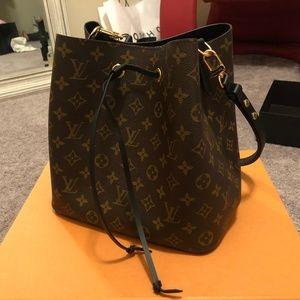 Authentic Neonoe LV Monogram Handbag w/ Box